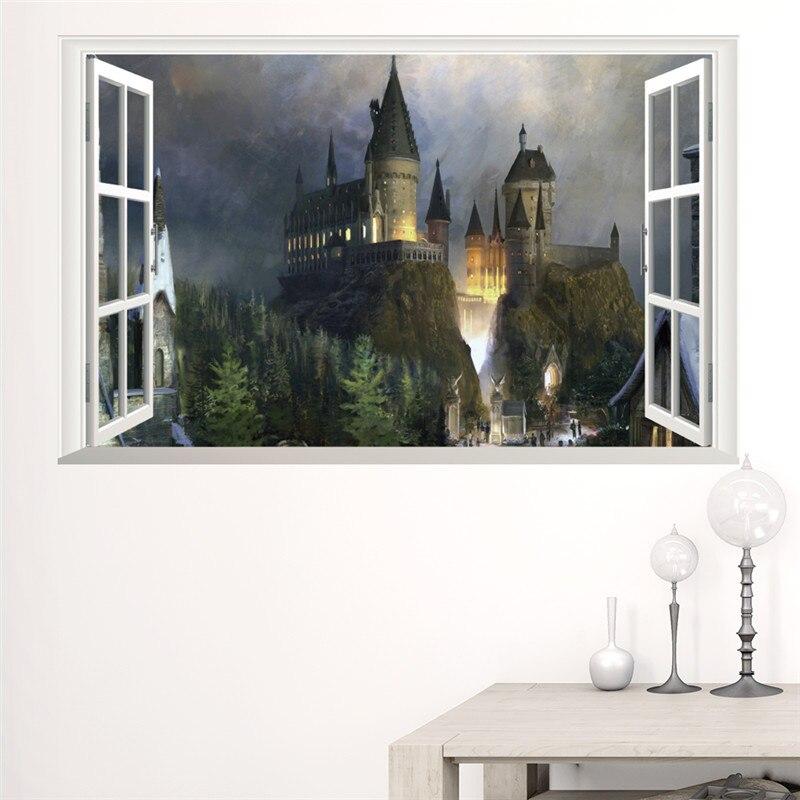 Harry Potter 3d Wall Sticker Mrwallsticker
