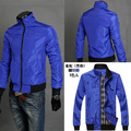 2015 Fashion Men Coats Jackets Long Sleeve Casual Man Top outerwear Grey,Blue,Black M~XXL