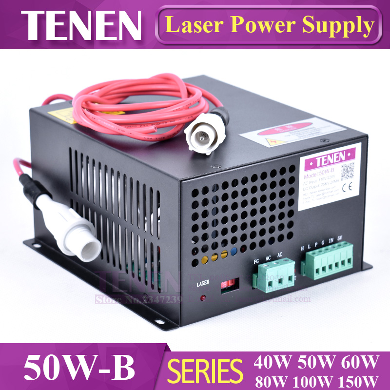 50w-g Myjg 50w Co2 Laser Power Supply For Laser Tube 110v 220v High Voltage Arving Engraving Cutting Machine One Year Warranty Woodworking Machinery & Parts Woodworking Machinery Parts