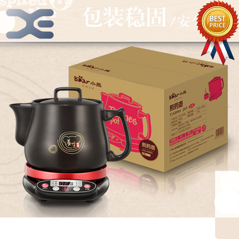 3L Chinese Medicine Pot Kettle Electric Automatic Kettle Decocting Device For Ceramic Health Pot