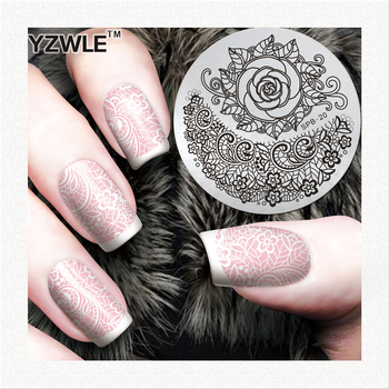 professional nail art stamping image plate for girl manicure image