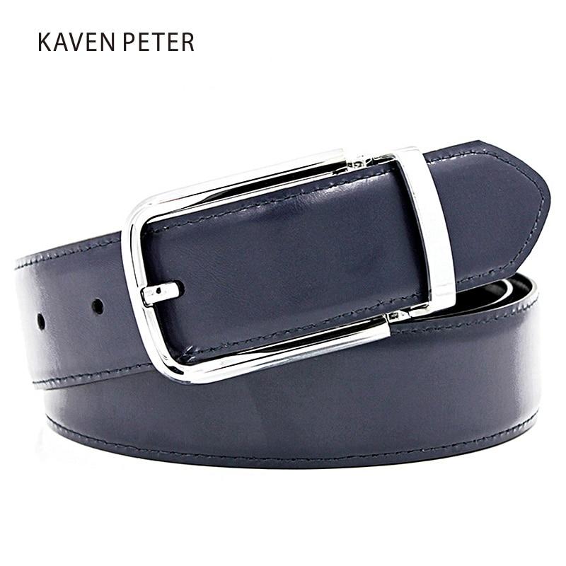 Famosas marcas para hombre cinturones de lujo Pin hebilla de cuero - Accesorios para la ropa - foto 3