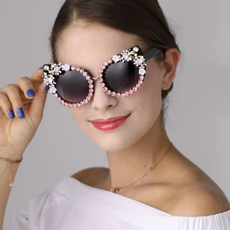 00df29b801c2d ... Sol para Mulheres Marca Luxo Strass Olhos Oculos Shades Dropshipping.  -17%. 🔍. Acessórios Diversos ...