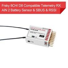 Frsky 2.4G 9CH D8 ใช้งานร่วมกับ Telemetry PPM SBUS AIN2 แรงดันไฟฟ้า SENSOR สำหรับ X9D PLUS iRange จัมเปอร์ T16 DJT XJT เครื่องส่งสัญญาณ
