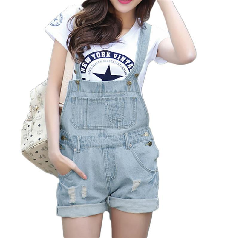 Compare Prices on Jeans Romper Shorts Jumpsuit- Online Shopping ...