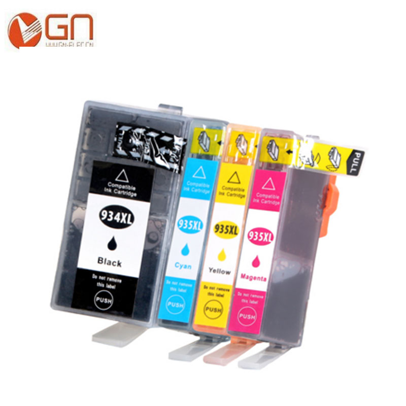 GN Compatible For HP 934 935 printer ink cartridges With Chip 934XL 935XL for HP OfficeJet Pro 6230 6830 6820 Printer