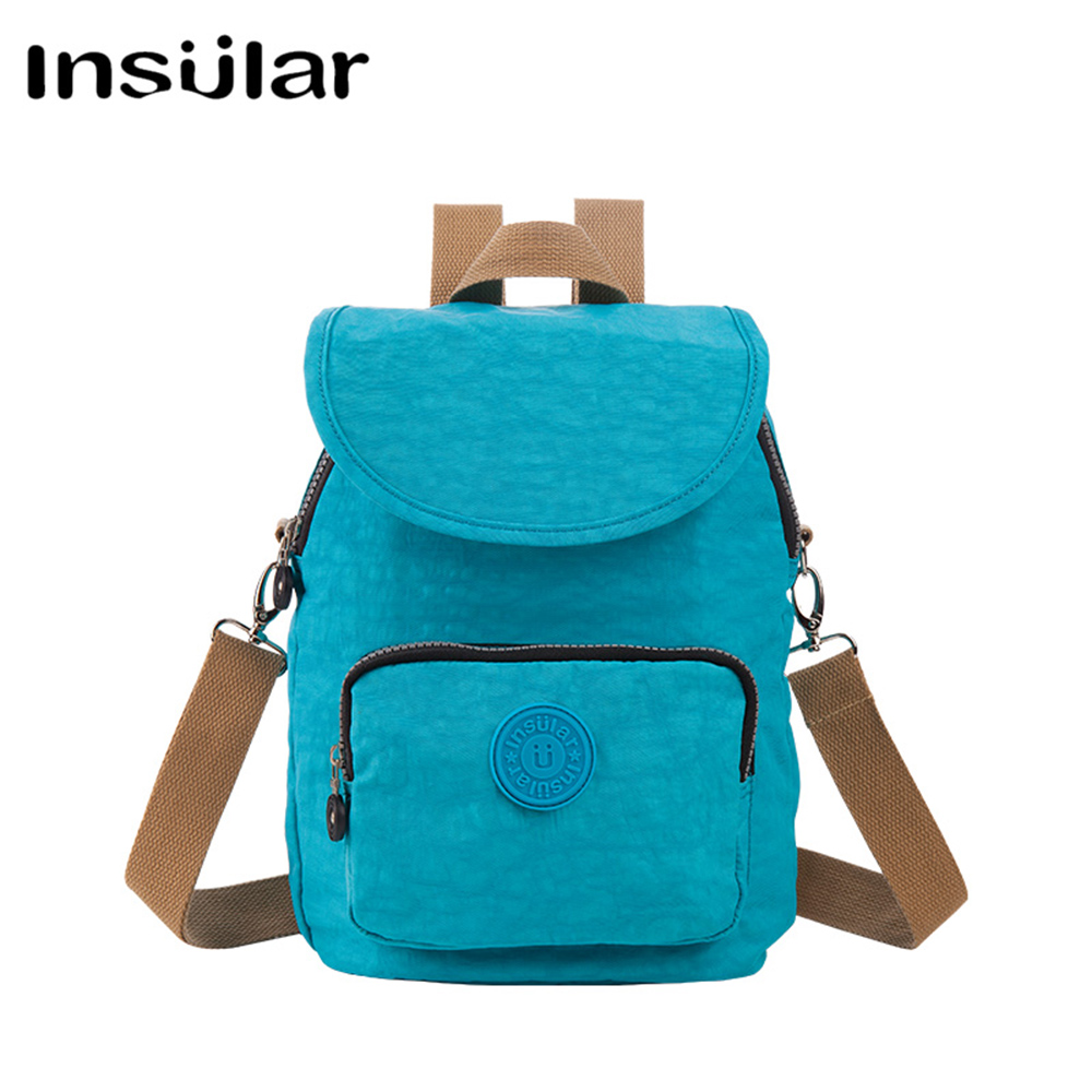 4 kinds of back method Maternity Mummy Backpack Nappy Bags Waterproof Polyester Shoulders Bags Large Capacity