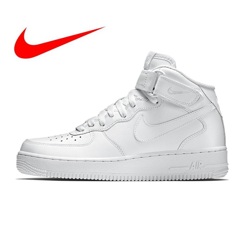 e76f180dd6 US $79.9 49% OFF|Original New Arrival Official Nike Air Force 1 AF1  Breathable Men's Skateboarding Shoes Sports Sneakers 315123 111-in  Skateboarding ...
