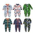 Moda Novo Do Inverno Do Bebê Do Bebê Do Algodão Subir Roupas Macacões Cercado Por Pé Do Bebê Recém-nascido Snowsuit