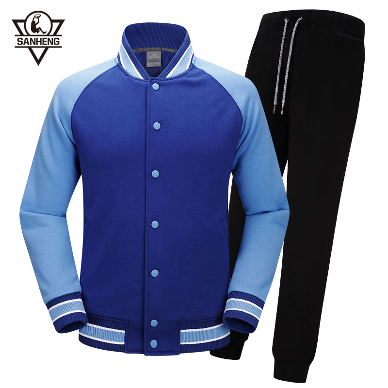 SANHENG Men's Basketball Jersey Winter Competition Uniforms Suits Plus Velvet Sports Clothes Set Custom Basketball Jerseys 515AB college basketball jersey wildcats 23 100% college basketball jerseys
