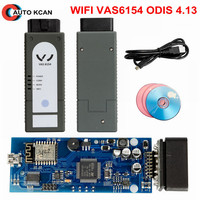 Hot Sale Newest WIFI VAS6154 ODIS 5.03 with keygen VAG Diagnostic Tool Support win10 System
