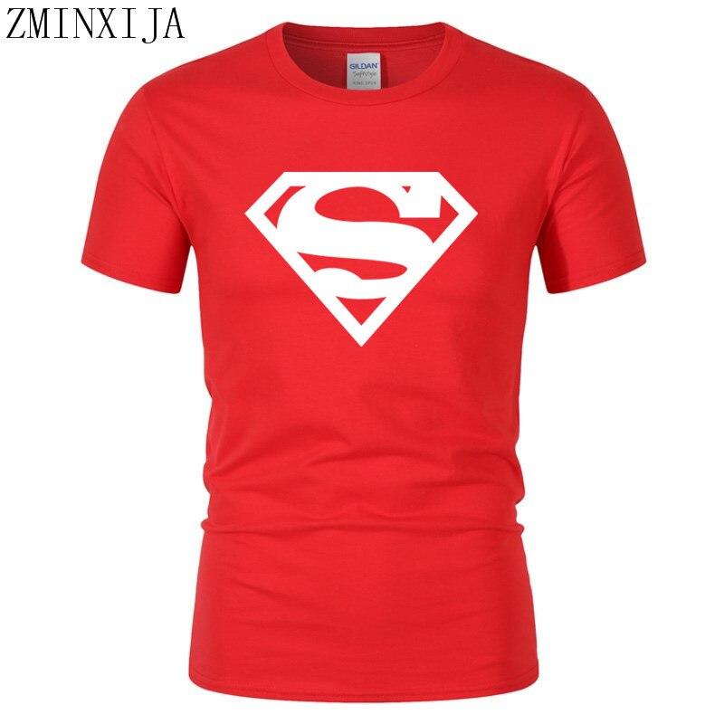 ccdae9bd59717 2018Comic LOGO Super Hero T Shirt Superman Batman Captain America the Flash  Marvel Movie Men Cosplay
