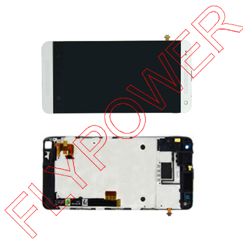 For HTC One Mini One M4 LCD Screen Display with Touch Screen Digitizer Assembly with Frame by free shipping for htc one mini lcd 601e m4 lcd display with touch screen digitizer assembly free shipping 100