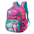 Детские рюкзаки из ткани Оксфорд высшего качества для девочек  ортопедические школьные сумки  рюкзак с мультипликационным медведем для нач...