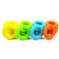 New arrival hand grips muscle power training green rubber ring exerciser finger hand grip easy carry.jpg 250x250