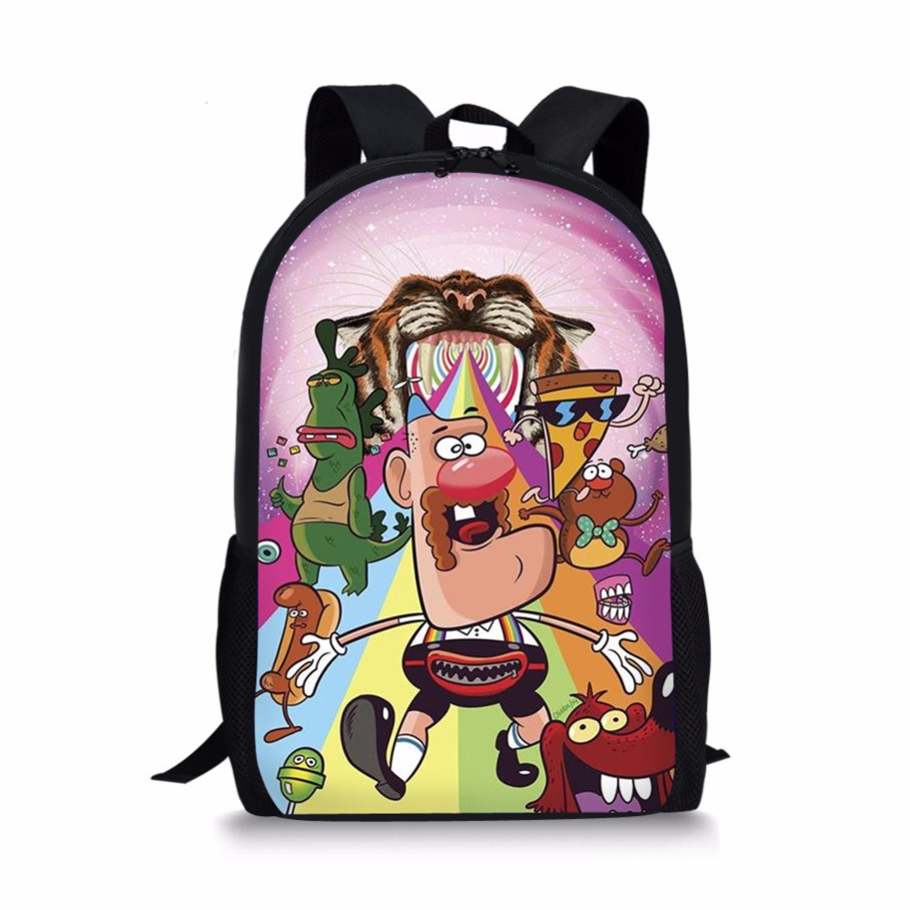 School Bags Diligent Cartoon Uncle Grandpa Backpacks Sonic Teen Titans Ninjago School Bags Kid Schoolbag For Boys Girls Mochila Escolar Book Bag 2019 Do You Want To Buy Some Chinese Native Produce? Kids & Baby's Bags