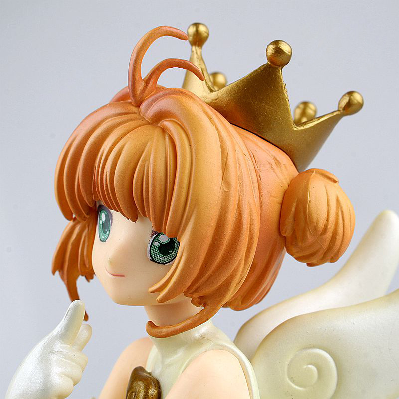 Anime Card Captor Sakura Mini Figures Kinomoto Sakura Li Syaoran PVC Action Figures Toys Cardcaptor 1set 14cm pvc japanese anime figure sakura kinomoto battle costume ver cardcaptor sakura figfix 008 action figure collectible
