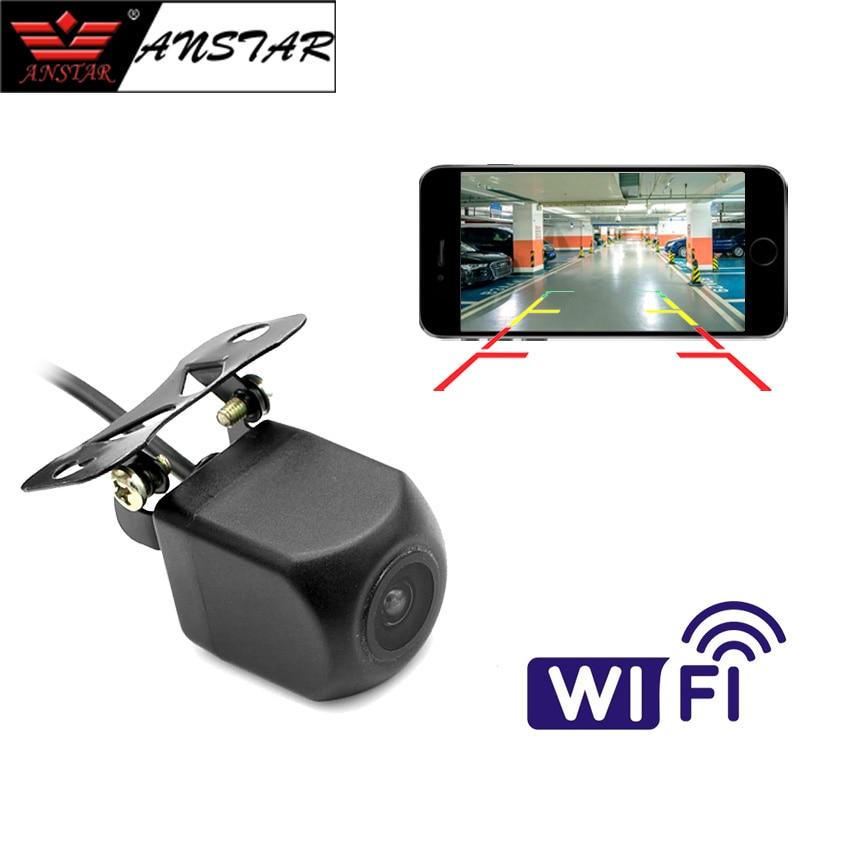 ANSTAR Mini WiFi Car Back Camera 1080P Waterproof Rear View Vehicle Camera 120 Wide Angle Night Vision Backup Parking Dash Cam 1080p 360° panorama wifi car dash camera 230° wide angle night vision wdr