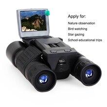 """12X32 Binocular Zoom 720 p BD318 2 """"TFT câmera de vídeo digital Camcorder Câmera de Caça Ao Ar Livre Telescópio"""
