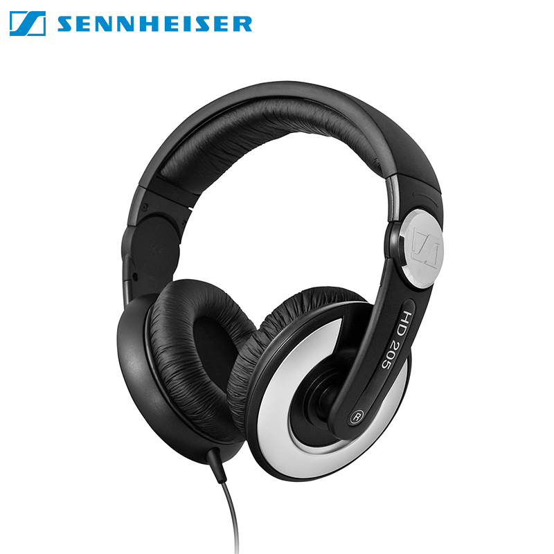 Earphones Sennheiser HD-205 II headphone for phone earphones for computer over-ear