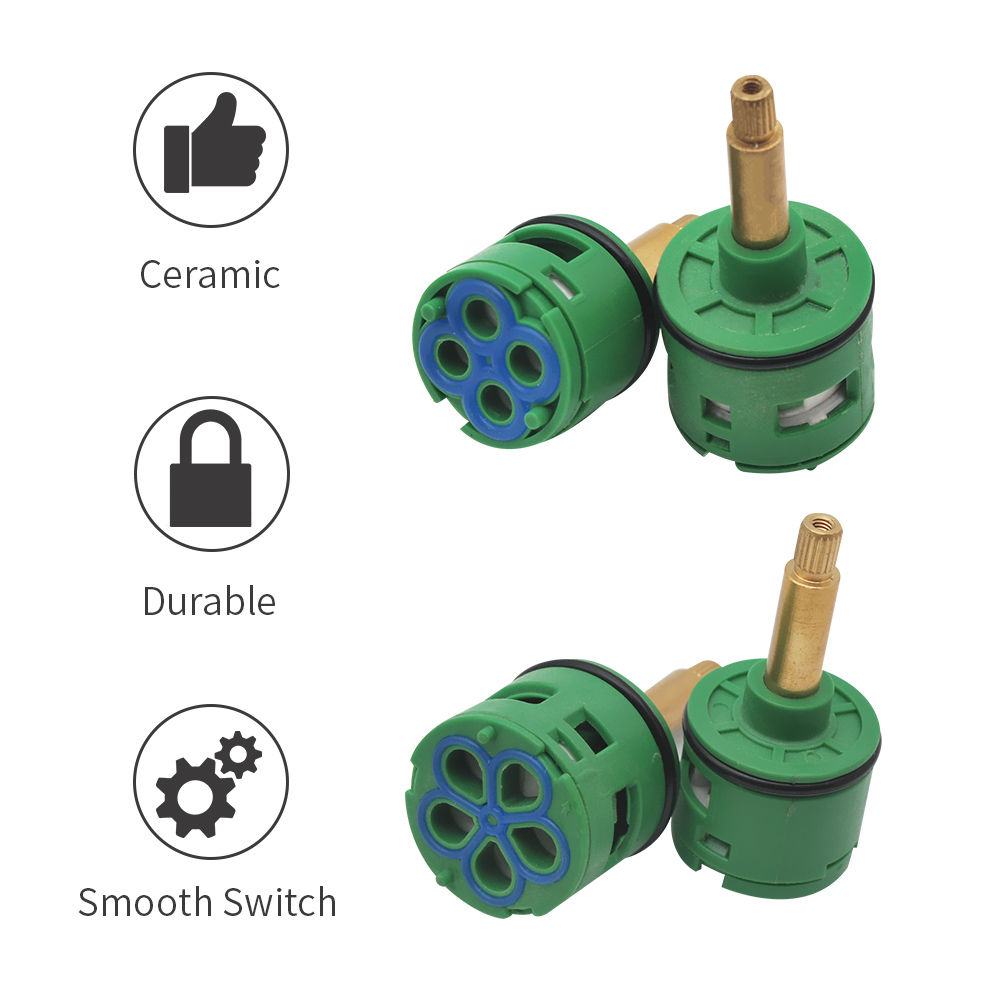 Brass ABS Shower Faucet Cartridge 3 Ways Mixing Valve Mixer Shower Bar Mixer Tap Shower Bath Mixing Valve Bathroom