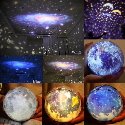 2017 New!romantic Planetarium Star Celestial Projector Cosmos Light Night Sky Lamp New Lights & Lighting