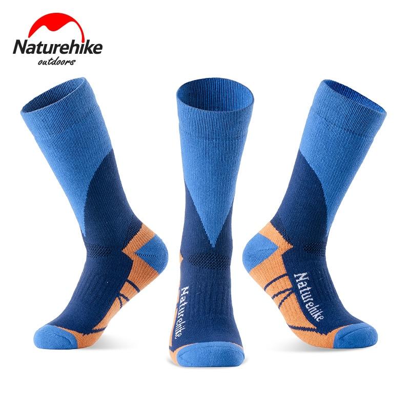 font b NatureHike b font Outdoor Sports Socks Hiking Cycling Socks Quick Drying Winter Thermal