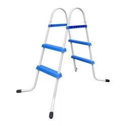 50 cm antideslizante medidas marco de acero para piscina. Escalera para natación piscina Max 84cm de altura laminado piscina PISCINA accesorio