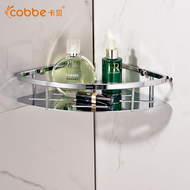 Modernes Badezimmer Lagerregal Edelstahl Dreieckige Regale Von Bad
