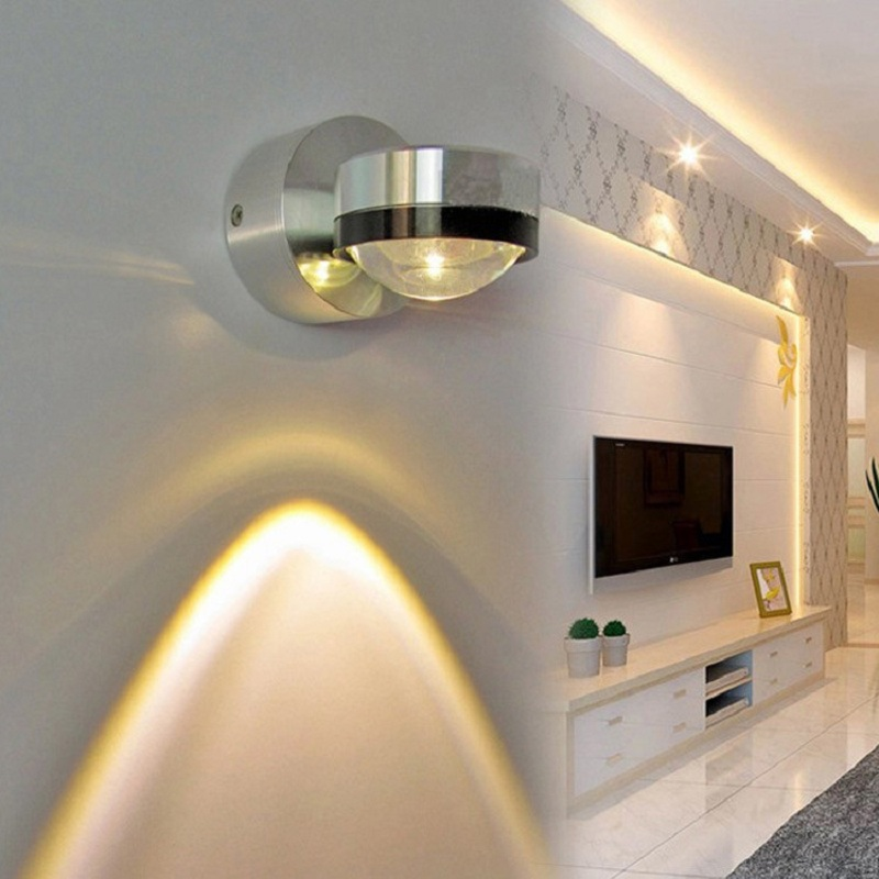 Fashion Design 1W/3W White Wall Lamp 85-265V LED up and down LED Light Indoor lighting & Outdoor ip65 Wall Inconce Lamp IY121642 black led wall light waterproof ip65 stainless steel up down gu10 double wall lamp indoor outdoor wall lamp ac 85 265v