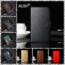 AiLiShi Leather Case For MyPhone Pocket 18x9 Funky Go Fun LTE 5 6 Lite Prime Plus 2 Power Flip Cover Wallet With Card Slots