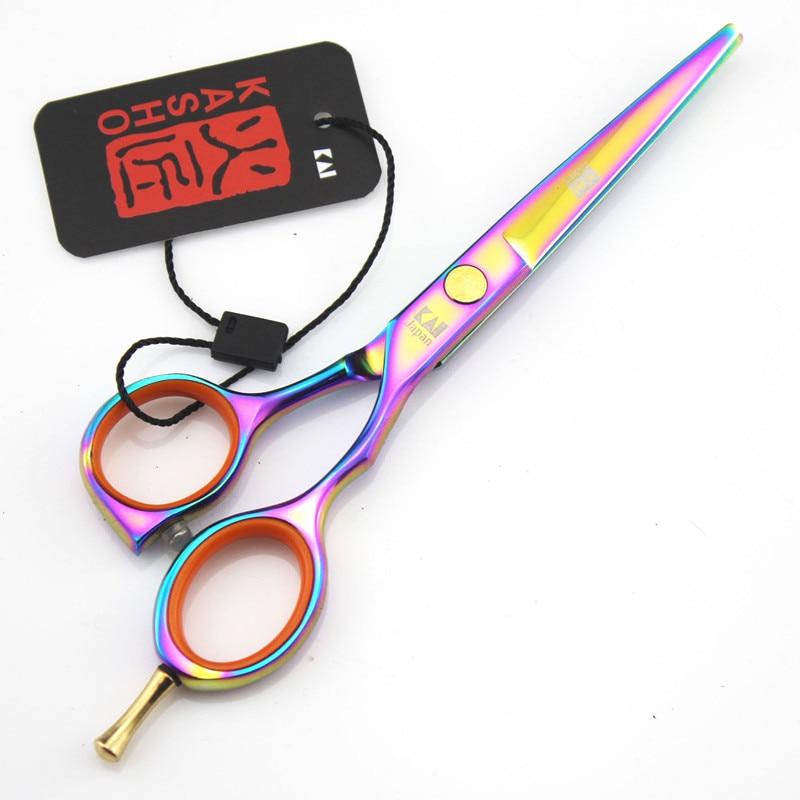 Kasho Hair Scissors 5.5 6 Professional Hairdressing Scissors Hair Cutting Thinning Scissors Barber Shears Hairdressers ToolsKasho Hair Scissors 5.5 6 Professional Hairdressing Scissors Hair Cutting Thinning Scissors Barber Shears Hairdressers Tools
