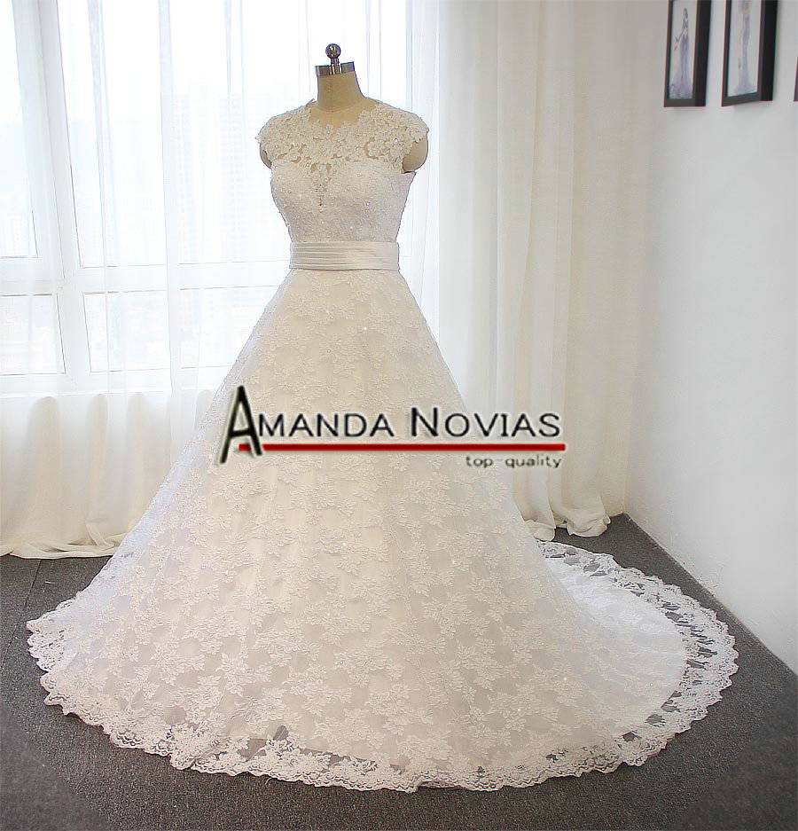 Custom made new two in one wedding dress model 100% real picture ...