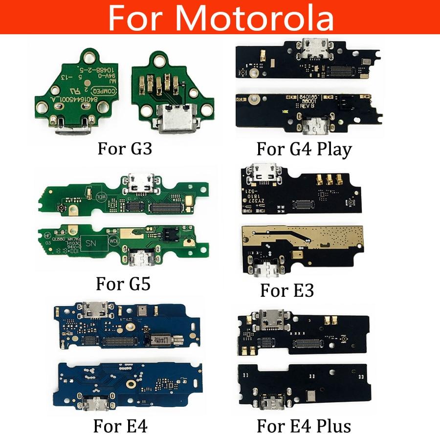 USB Charge Port Jack Dock Connector Charging Board Flex Cable For Motorola Moto G3 XT1540 XT1541 XT1548 G4 Play G5 E3 E4 E4 Plus