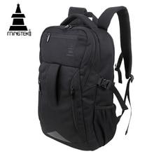 MINGTEK Business Casual Laptop Backpack 14 15 6 Inch Waterproof Nylon Backpacks 2017 Large Capacity School