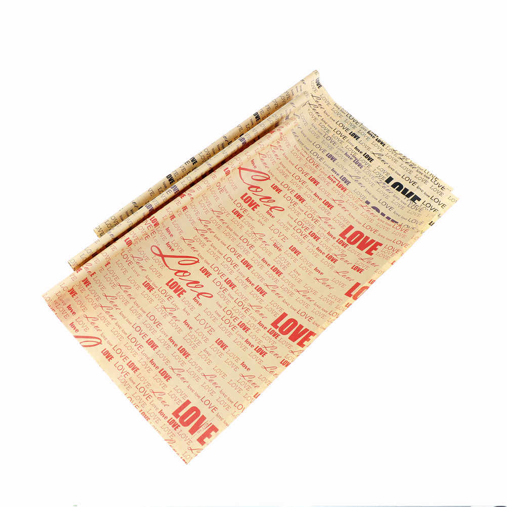 Packaging Flower Wrapping Paper Florist Bouquet Wrap Newspaper Paper Material for Christmas&Party Thanksgiving Gift