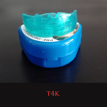 Hot Sale 1 Piece/Box Simple Pratical T4K Dental Orthodontic Teeth Trainer Appliance for Kids with High Quality Free Shipping
