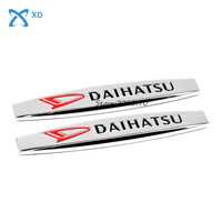 2pcs Car Styling Side Fender Stickers Metal Emblem Badge For Daihatsu Terios Sirion Materia Feroza Mira