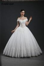 цены на A Line Boat neck Tulle Lace Applique Beading Lace Applique Floor length Bridal Gown Wedding Dress  в интернет-магазинах