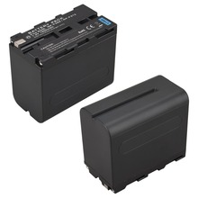 1Pcs High Capacity 7800mAh NP-F960 NP F960 NP-F970 NP F970 Battery Pack For Sony F960 F970 decoded Camera Battery