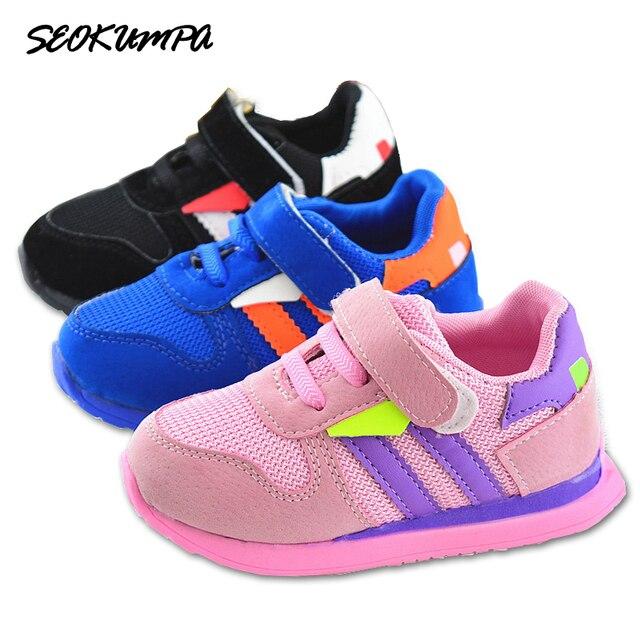 622f4857aeb New Spring Kids shoes Brands Sneaker Baby Shoes Tenis Infantil Boys Girls  Shoes Antiskid Children Footwear Infant Newborn shoes