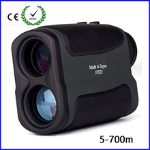Hot telescope Golf Laser range Distance Meter Rangefinder Range Finder hunting monocular meter 10×25 700m for hunting free ship