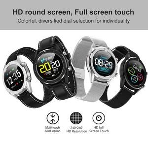 Image 3 - Letine DT28 ECG Monitor De Freqüência Cardíaca Relógio Inteligente de Pagamento Móvel Múltiplos Modos de Esportes de Fitness Rastreador Smartwatch Tela Sensível Ao Toque Completa