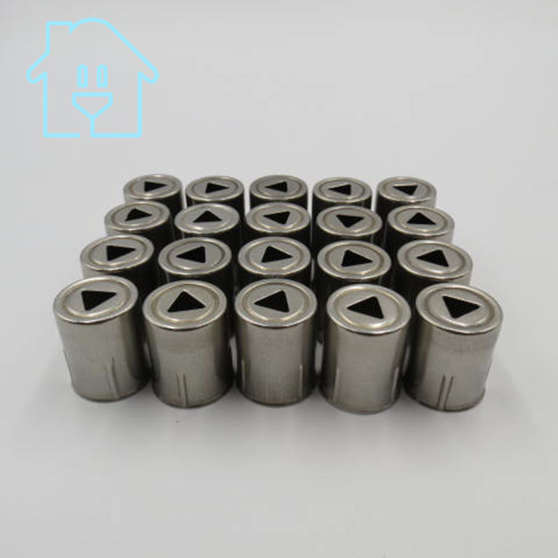 (20 Teile/los) Stahlkappe Ersatz Mikrowelle Dreieck Loch Magnetron 20 Stücke Silber Ton 38% Off New Unused