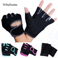 Fitness Gloves Exercise Fingerless Gloves Multifunction for Men Women Strength Practice Good quality