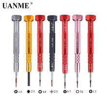 Multifunction 7 Type Hard S2 Steel Precision Pen Screw Driver Screwdriver Set Repair Tools Kit for Cell Phone Hand tool цены