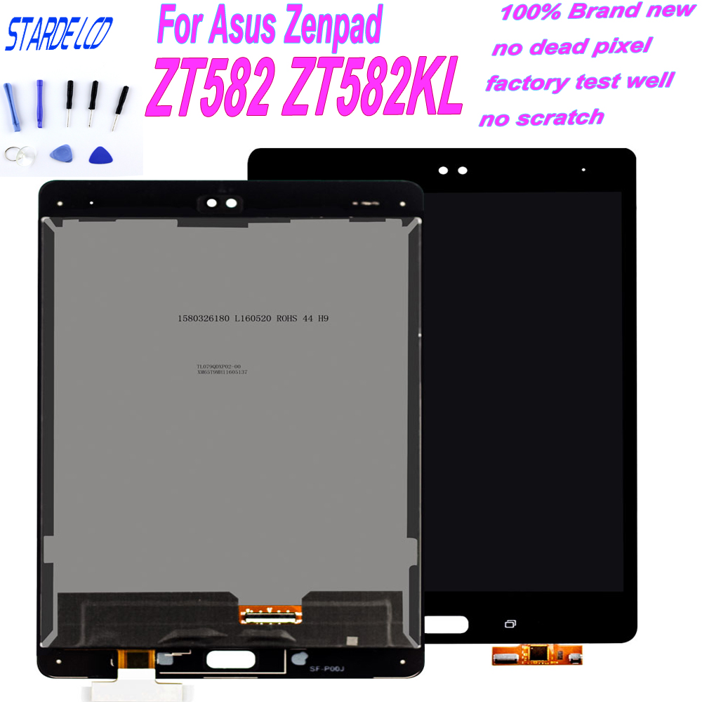 Original nouveau pour Asus Zenpad Z8S ZT582 ZT582KL écran LCD + écran tactile numériseur assemblée avec cadre tablette de remplacement
