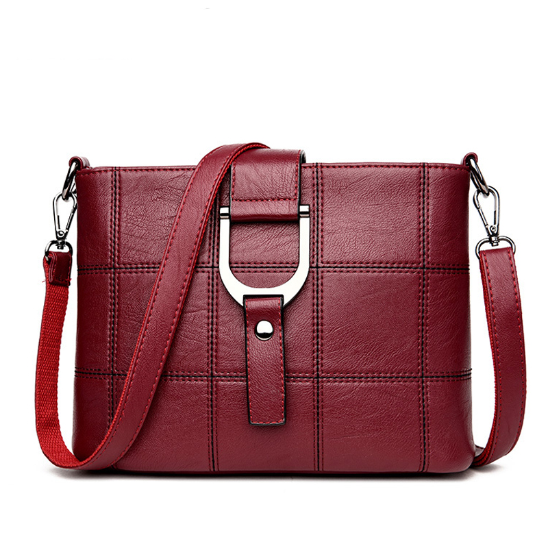 815a80b741dd5 2019 Yüksek Kalite Kadın Çanta Lüks askılı çanta Yumuşak pu deri omuz  çantası Moda Bayanlar Crossbody