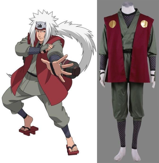 Boruto Jiraiya: NARUTO JIRAIYA Cosplay Costume Halloween-in Anime Costumes