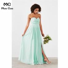 Buy aqua chiffon bridesmaid dresses and get free shipping on AliExpress.com 936ef2d49863